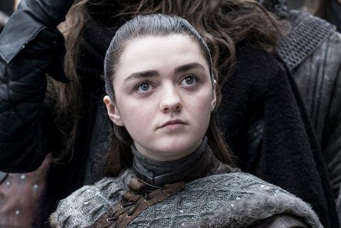 Game of Thrones, Stagione 8, Arya Stark, Maisie Williams
