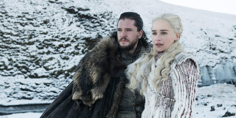Game of Thrones, Season 8, Kit Harington, Jon Snow, Emilia Clarke, Daenerys Targaryen