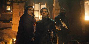 Game of Thrones, Season 8, Episode 3, Arya Stark, Maisie Williams, Red Woman, Melisandre, Hound