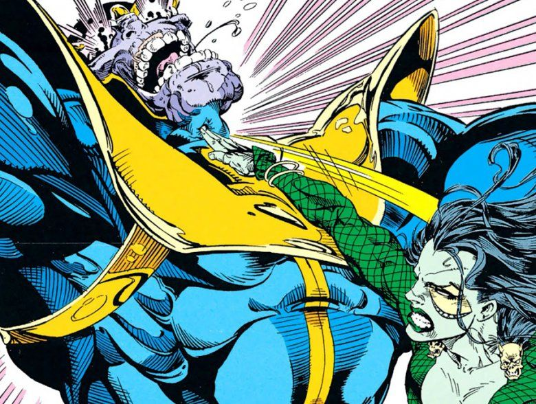 Personajes que derrotan a Thanos