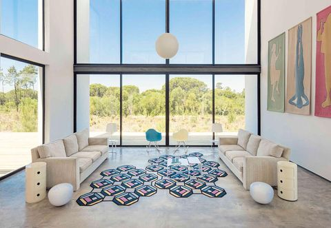 These modern rugs will change your living room