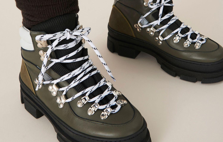Gelert Donna Horizon Impermeabili Scarponi Da Passeggio Stringati Scarpe