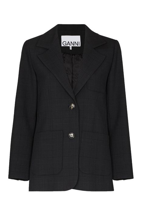 ganni blazer   miranda hobbes style satc wardrobe