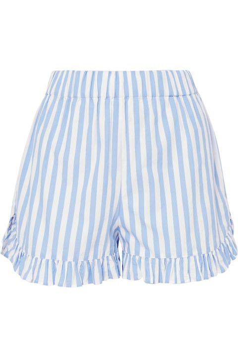 Clothing, White, Blue, Shorts, Trunks, Active shorts, Bermuda shorts, Skort, Sportswear,