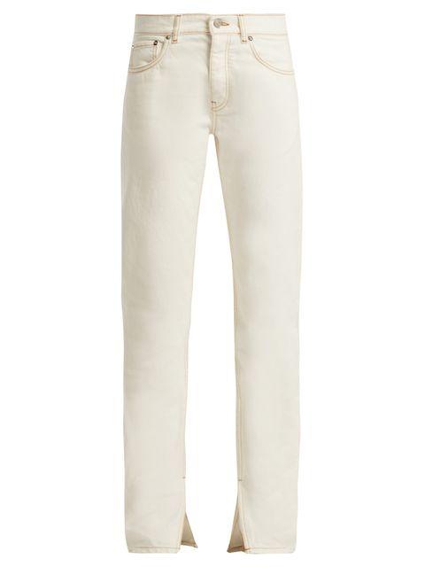 Jeans, Clothing, White, Denim, Khaki, Pocket, Trousers, Beige, Textile, Khaki pants,