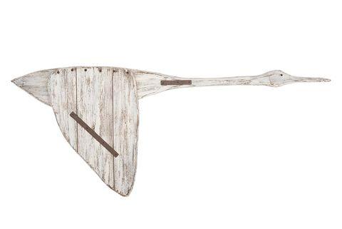 Adorno: ganso de madera