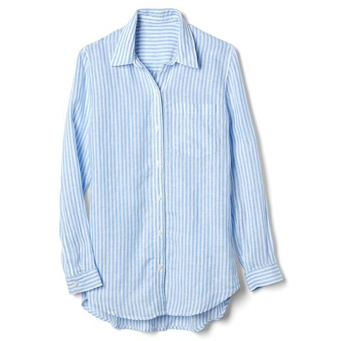Gap Oversized Boyfriend Shirt