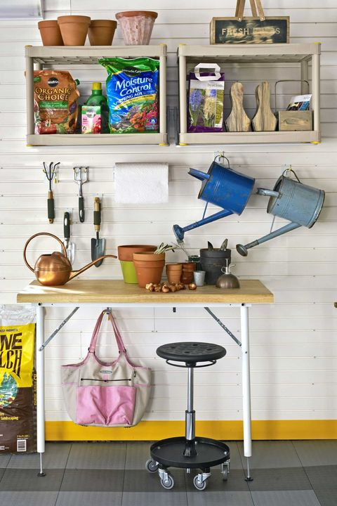 Garage Storage Ideas - Gardening Station