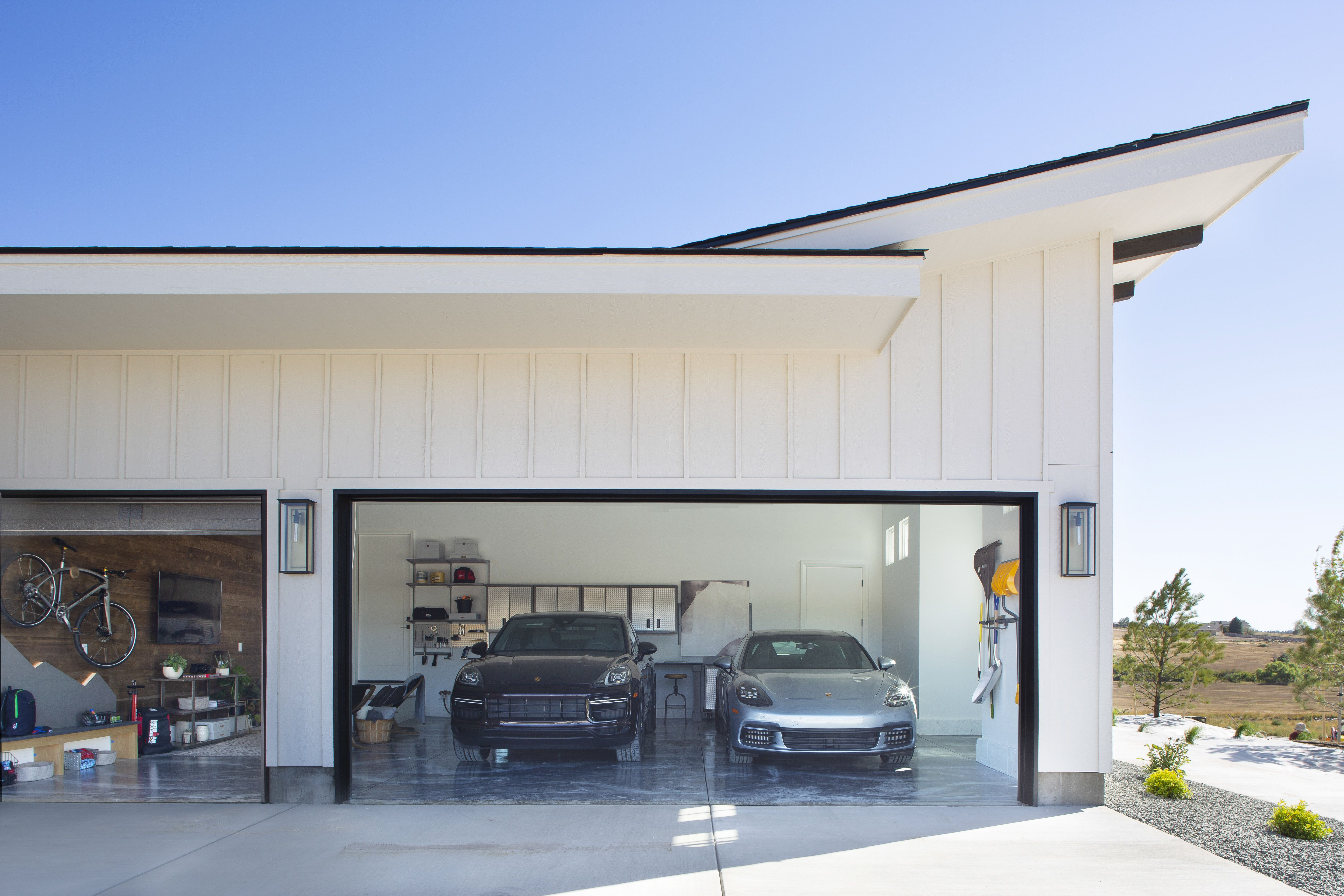 This Garage Is the Ultimate Display of Design and Utility