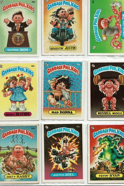 Most Valuable Toys - Garbage Pail Kids' Cards