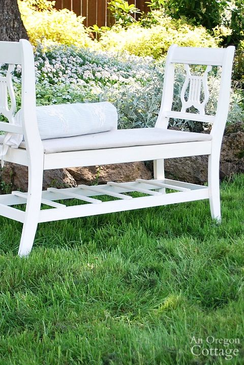 Pleasing 22 Diy Garden Bench Ideas Free Plans For Outdoor Benches Creativecarmelina Interior Chair Design Creativecarmelinacom
