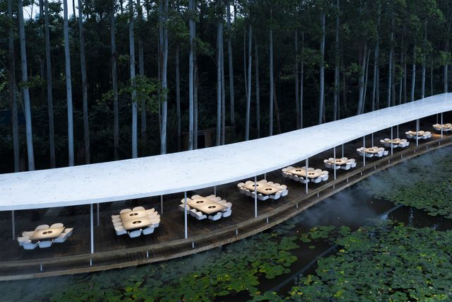 Garden Hotpot, Chengdu, Cina, Muda Architects