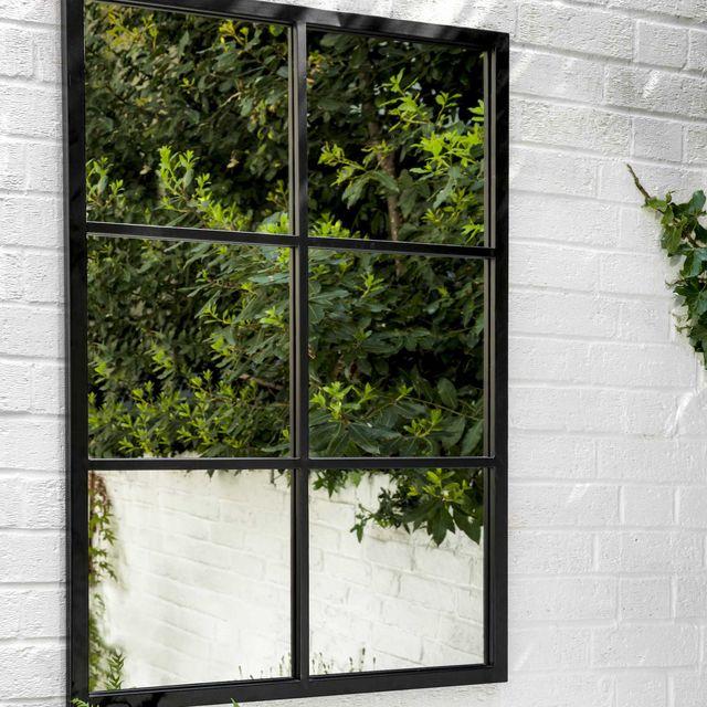 fulbrook garden mirror, garden trading