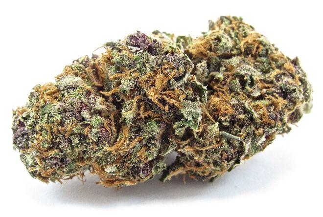 Trending California cannabis strain, Forbidden Fruit, spotted at Garden of Eden in Hayward, CA.