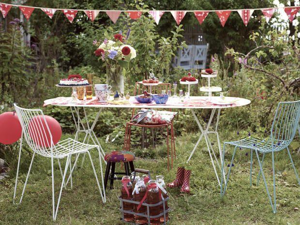 Festa in giardino: 7 idee originali fai-da-te | Luminalpark