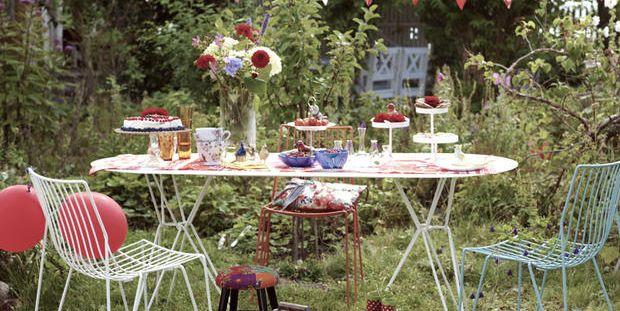 Come organizzare una festa in giardino elegante e chic for Organizzare giardino