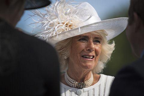 Camilla al Garden Party 2019 a Buckingham Palace