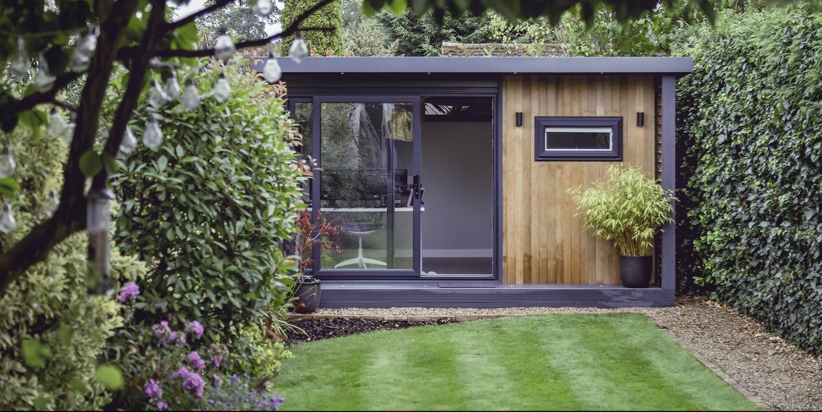 The 'shoffice' is the new home working trend in UK gardens – here's how to create one