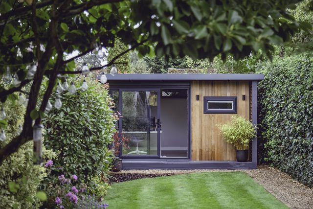 the 'shoffice' an office in a shed solution to home working