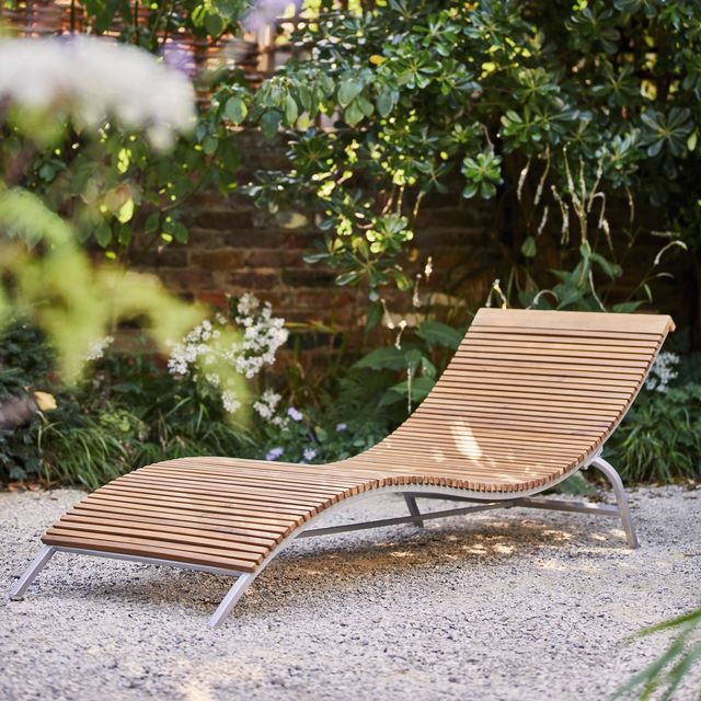 Garden sun lounger, Holio, Habitat