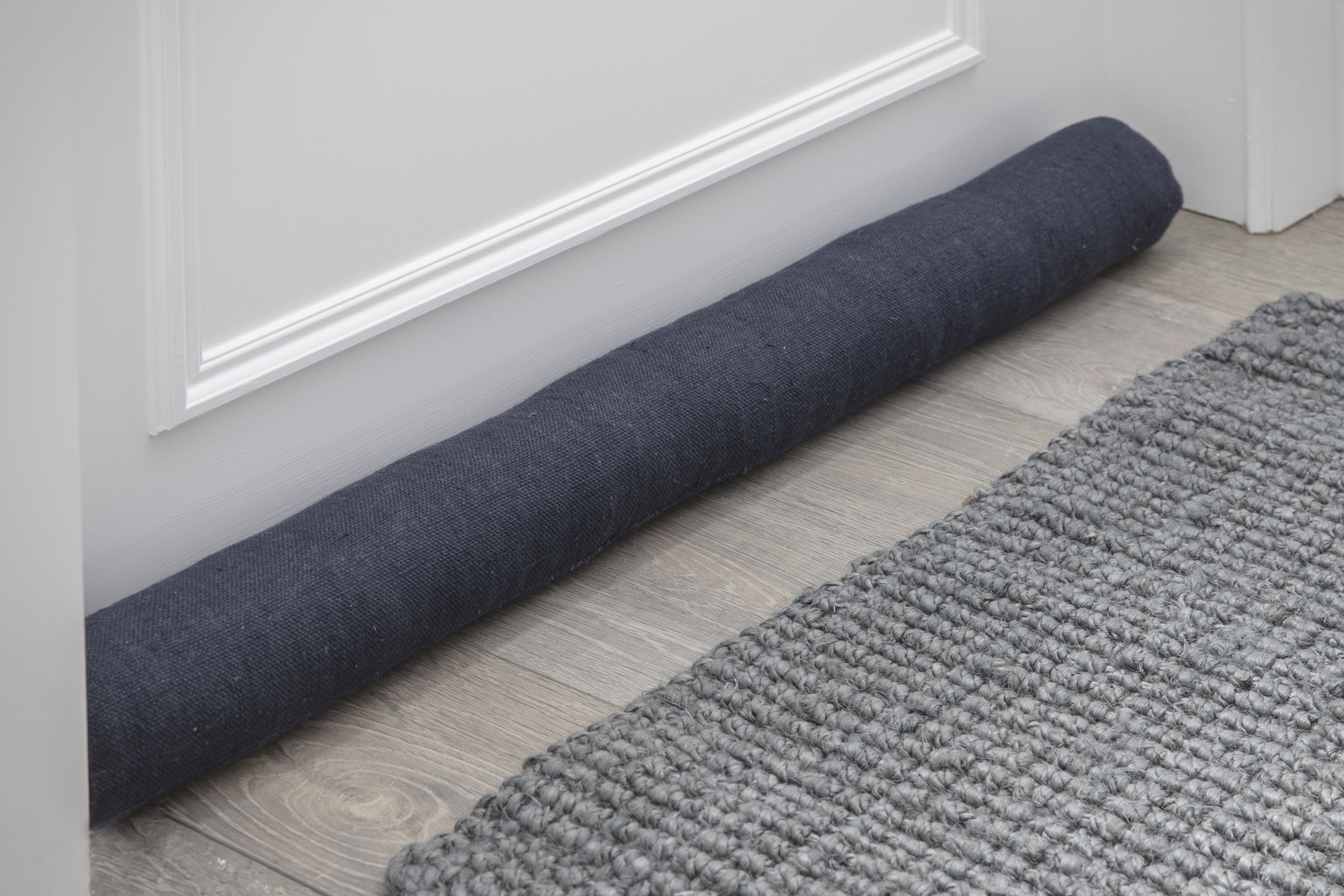 Garden Trading Compton Draught Excluder in Carbon - Linen