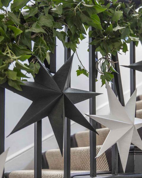 garden trading maddox stars christmas decorations