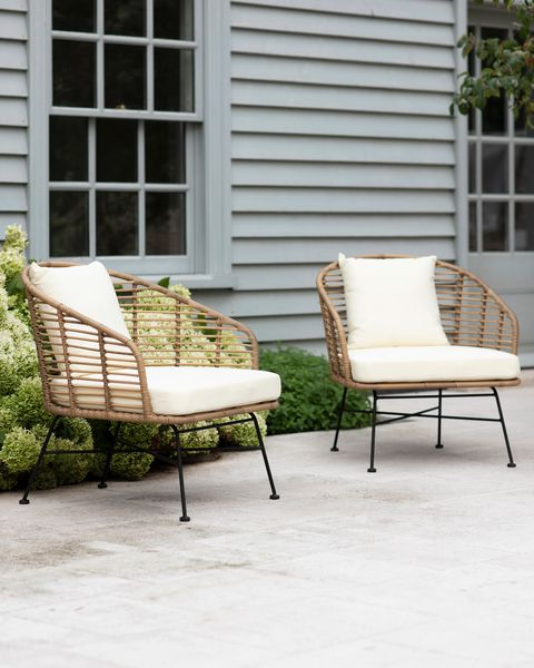 Garden Trading Set of 2 Hampstead Armchairs - Outdoor