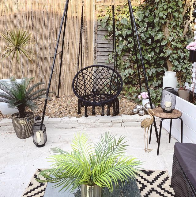 before  after photos woman transforms dull garden for just £100