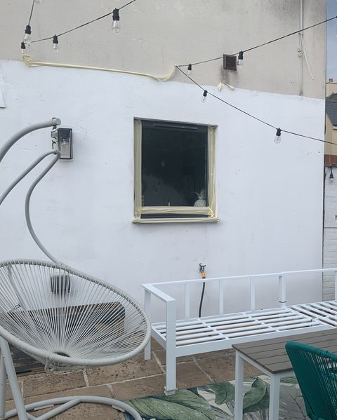 before  after garden renovation by kel harmer from oh so kel