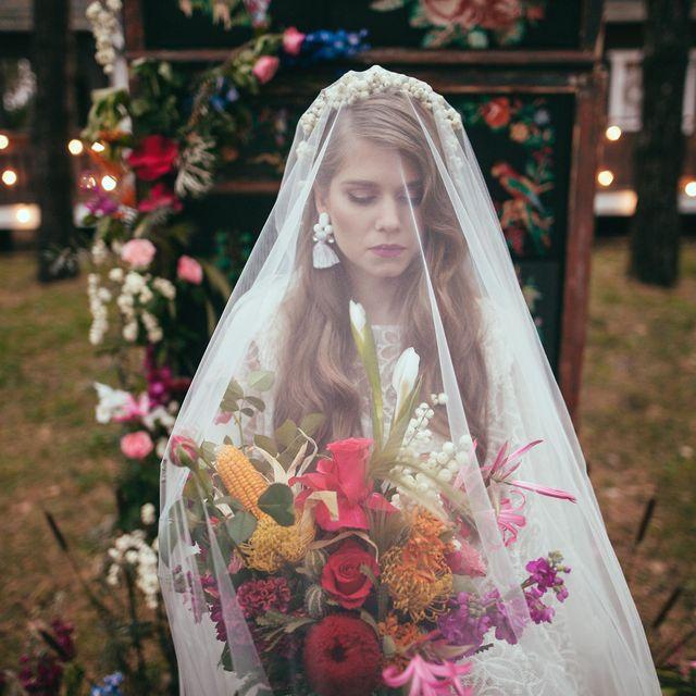 garden wedding dress
