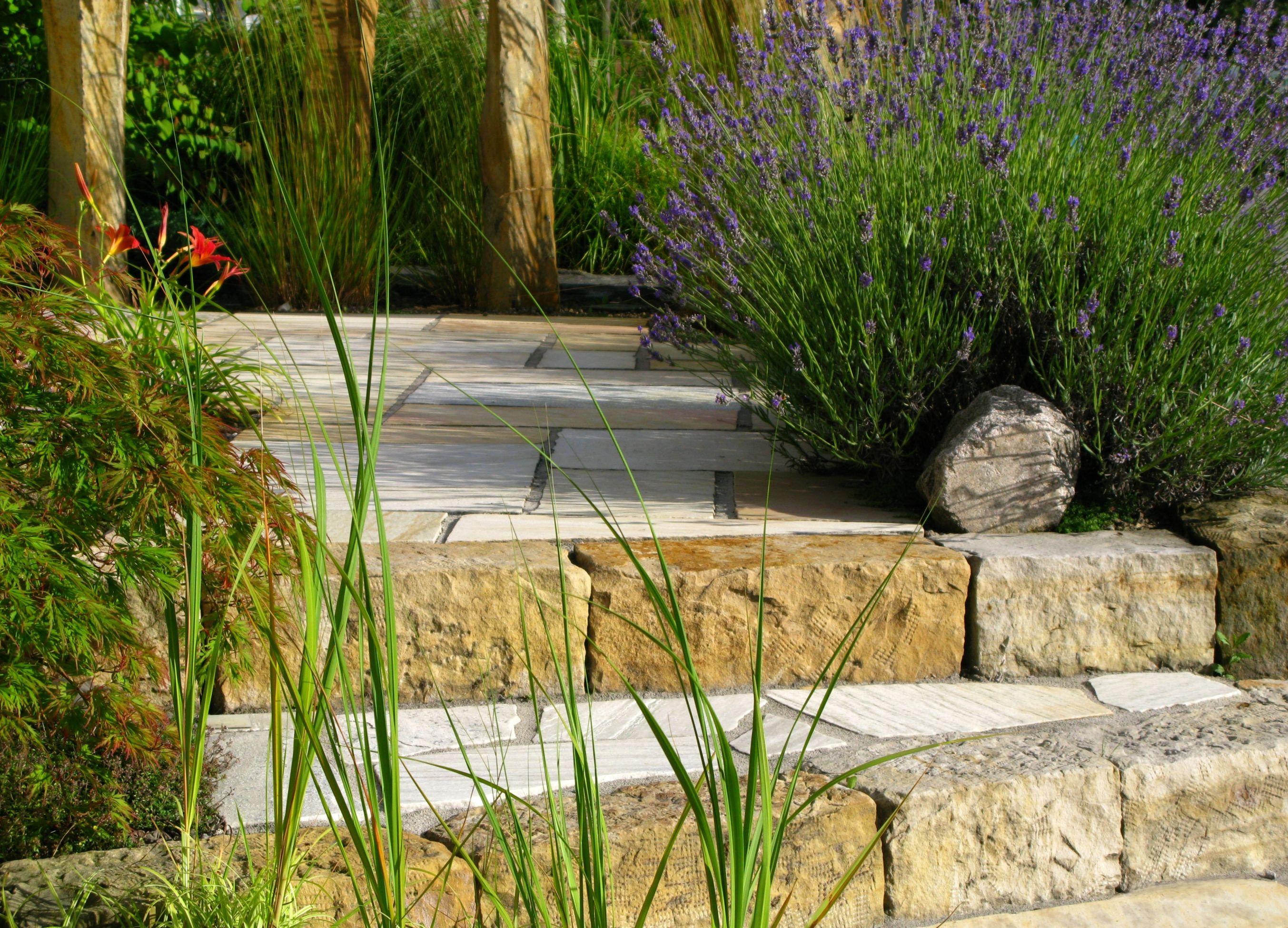 18 Stunning Stone Walkways Garden Path Ideas
