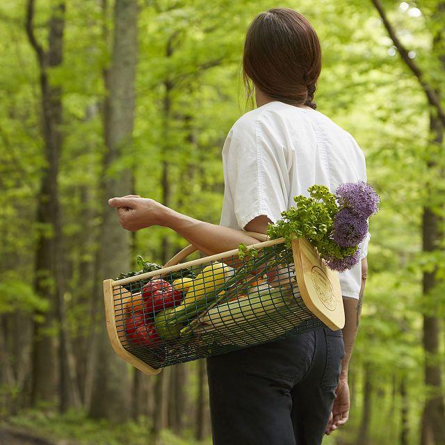 gardener gift harvest basket