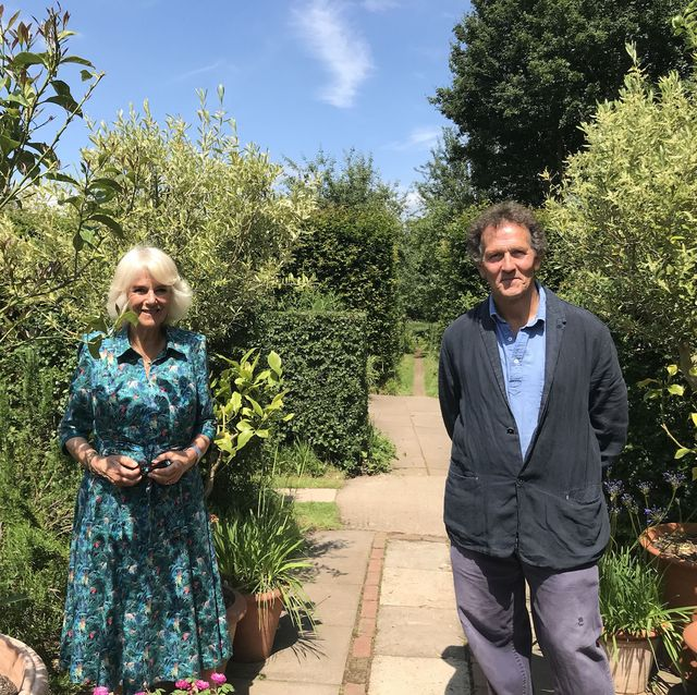 monty don welcomes the camilla, hrh duchess of cornwall, to longmeadow, where she shares her love of gardening