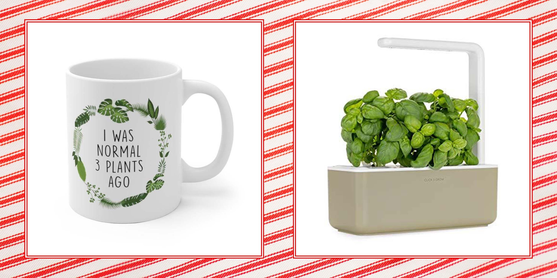 Floral Botanical Garden Gift Set NEW Gardeners Enamel Mug