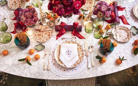 gardner holiday party secrets table setting home veranda