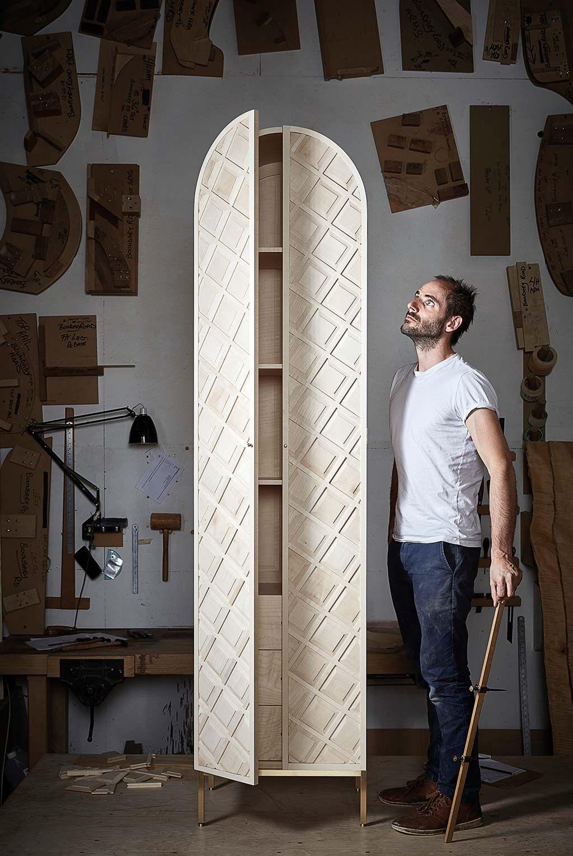 Gareth Neal y su armario Jack