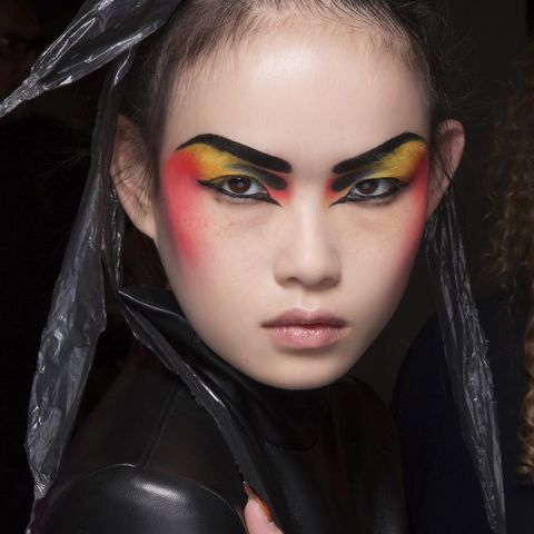 Face, Hair, Lip, Beauty, Eyebrow, Head, Skin, Hairstyle, Fashion, Eye,