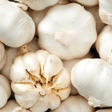 Garlic background