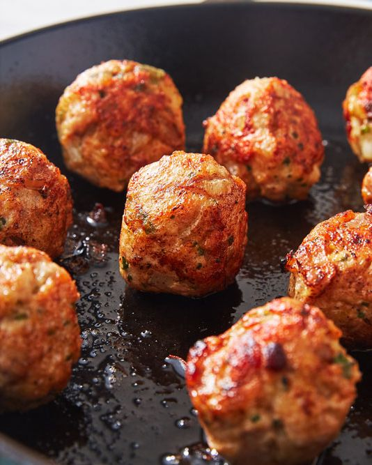 Garlic Butter Meatballs - Delish.com