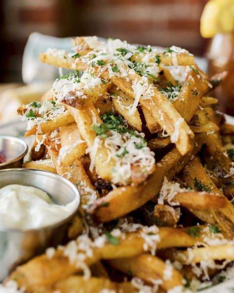 garlic parmesan french fries halloween appetizers