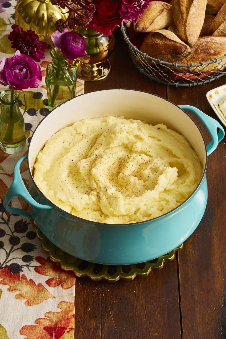 Garlic- and Sage-Infused Mashed Potatoes