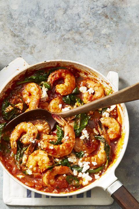 garlicky fiesta shrimp