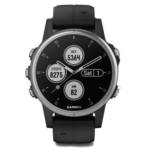garmin fenix 5s plus sporthorloge zwart hardloophorloge horloge sporten hardlopen