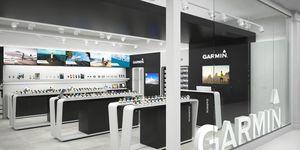 garmin, primera, tienda, Madrid