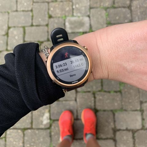 I trained for a marathon with my running watch and took 27-minutes off my PB