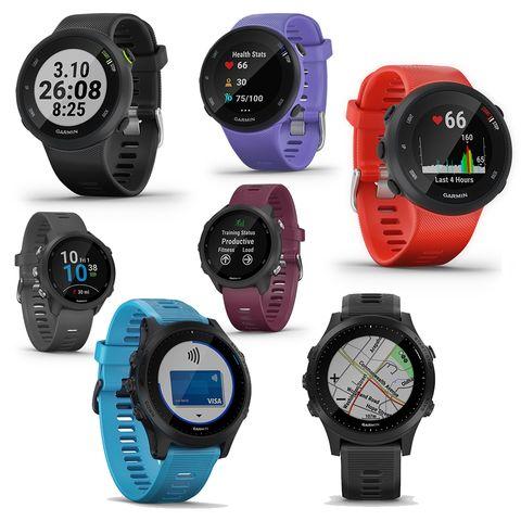 the new garmin forerunner 45, 245, 945 running gps watch