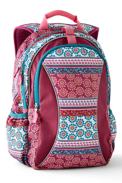 best backpack -  Garnet Hill Eco Signature Backpack