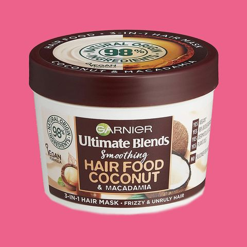 Garnier Ultimate Blends Hair Food Coconut Oil 3-in-1 Frizzy Hair Mask Treatment