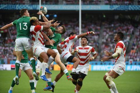 ラグビー 日本 対 アイルランド