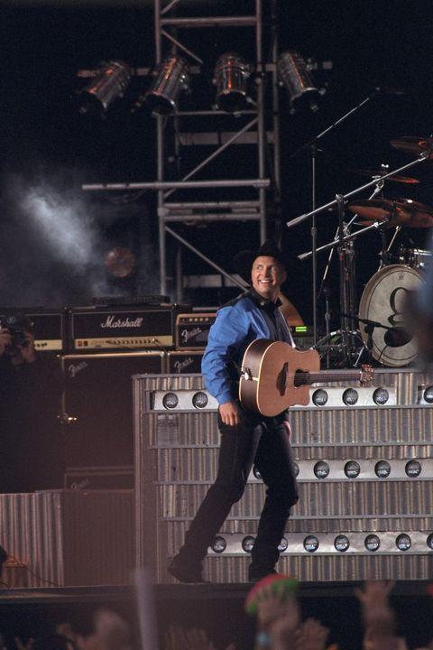 گارت بروکس در کنسرتی در پارک مرکزی